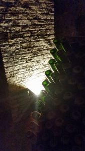 riddling table in pommery