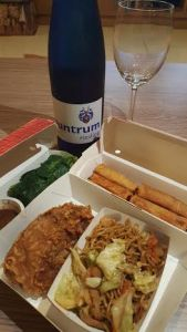 chinese and riesling