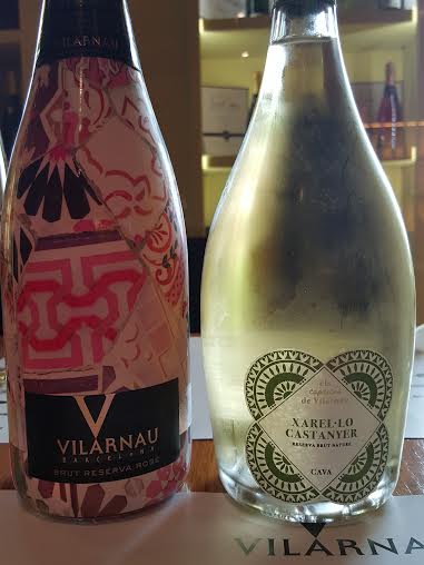 10 - rose with gaudi and cava using chestnut barrels
